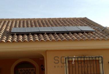Electricidad fotovoltaica en Murcia