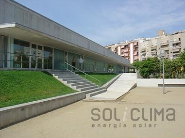 Instalación solar en el Vallés