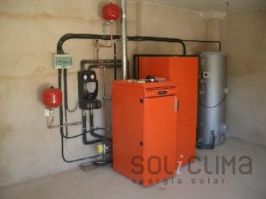 Instalador de caldera de pellets en Madrid