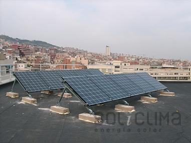 Modulos fotovoltaicos en Barcelona