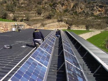 paneles fotovoltaicos en lleida