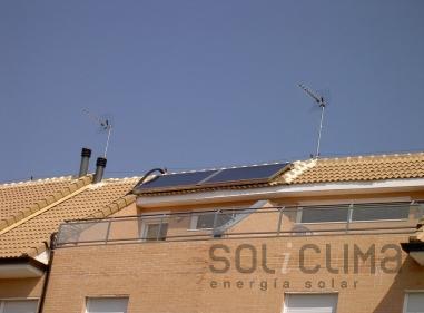 Paneles solares integrados en Madrid
