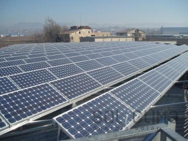 Paneles solares en Manlleu