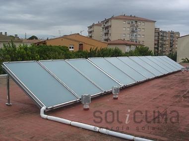 Placas solares Girona
