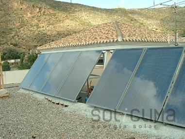 Reparación solar en Almería