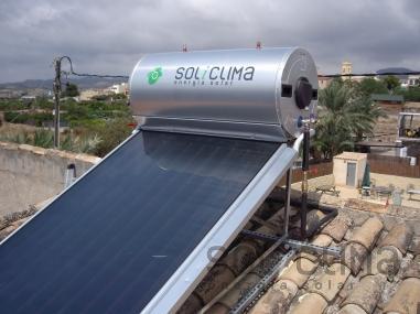 Sistema solar en Villajoyosa, Alicante