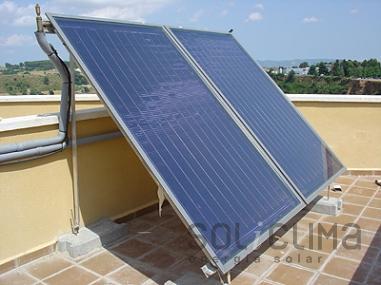 Energia solar en bloque de viviendas