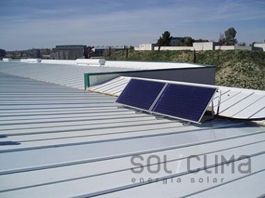 Energía solar térmica en Madrid
