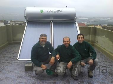 Termosifón solar