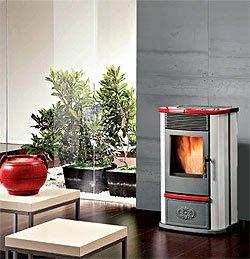 Estufa de pellets para agua caliente: Ecoidro acero