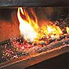 Combustión en caldera de biomasa